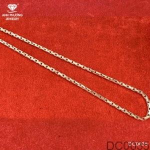 Dây Chuyền Vàng Trắng 10k - DC0035