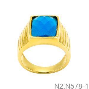 Nhẫn Nam Vàng Vàng 18K - N2.N578-1