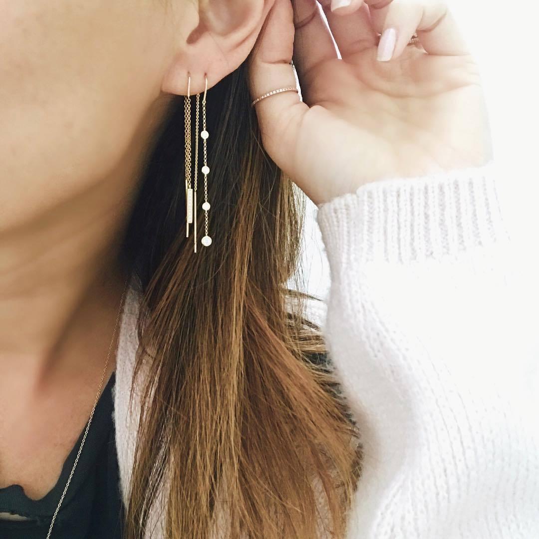 Những mẫu bông tai nhỏ xinh bạn không thể bỏ qua