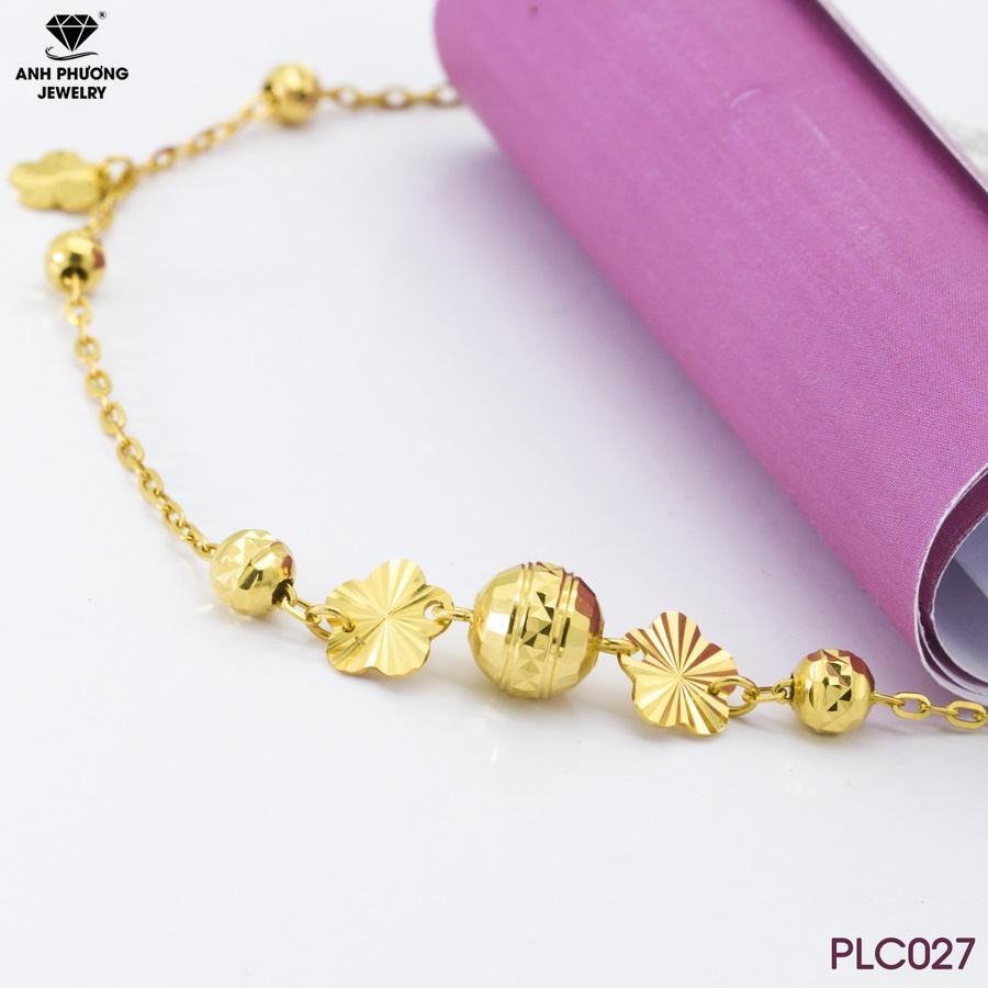 PLC027 - Lắc chân vàng đẹp