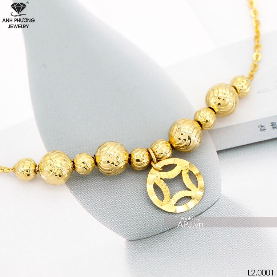 L2.0001 - lắc chân vàng vàng đẹp