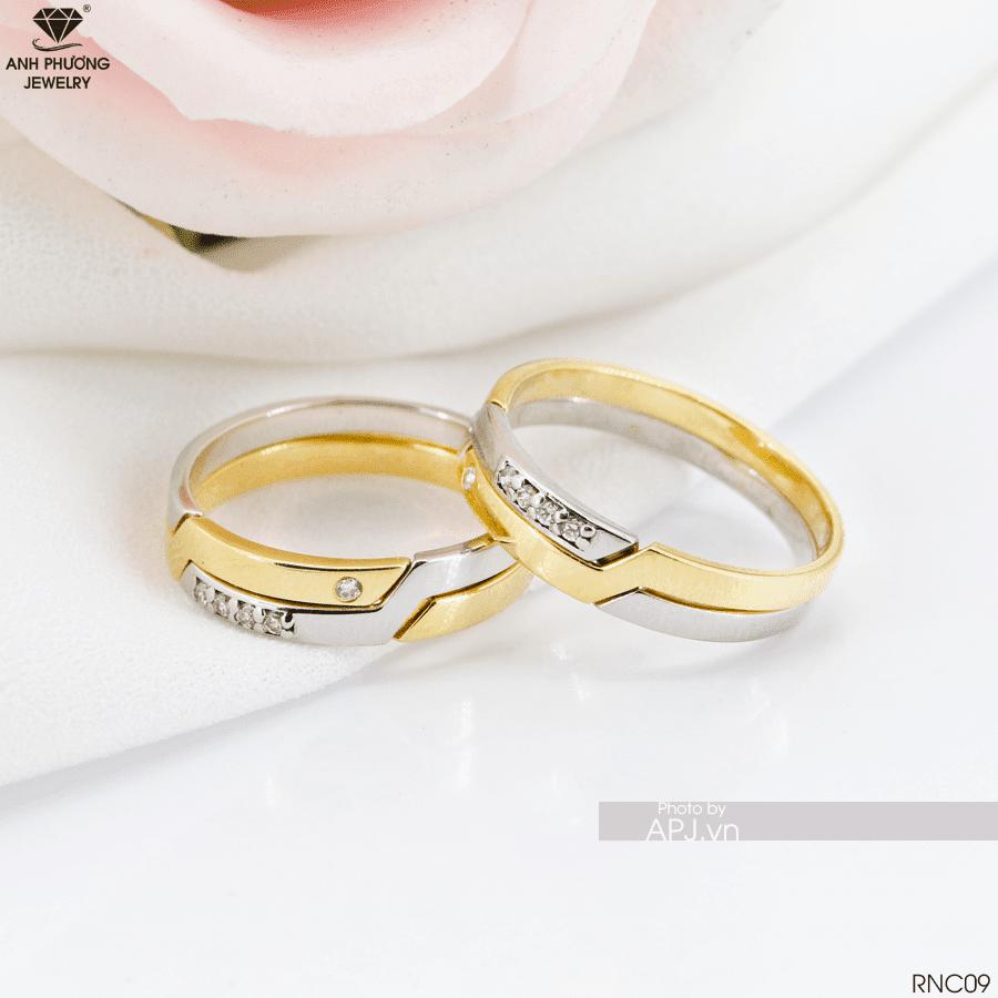 RNC09 - Nhẫn cưới vàng