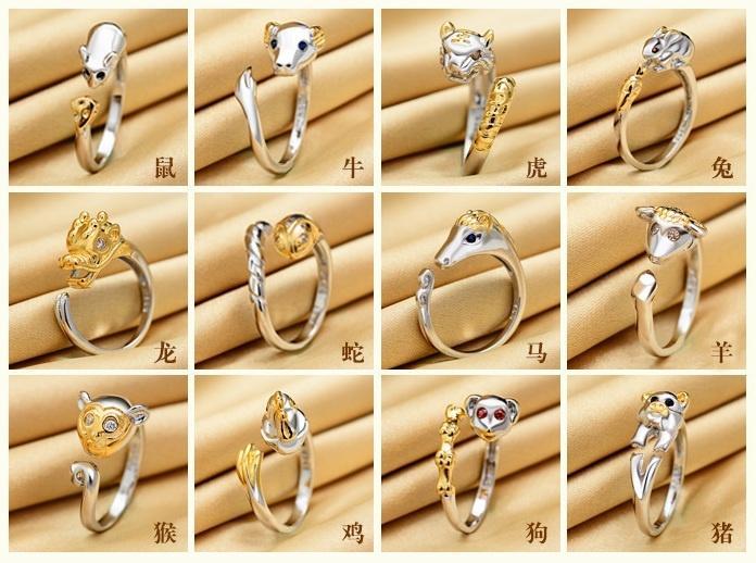 Nhẫn nữ 12 con giáp có ý nghĩa gì?