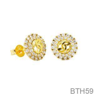 Bông Tai Vàng Vàng 18k - BTH59