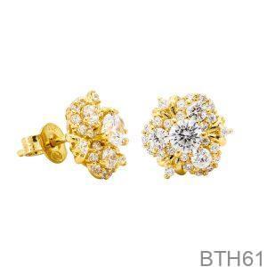 Bông Tai Vàng Vàng 18k - BTH61
