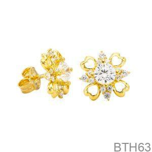 Bông Tai Vàng Vàng 18k - BTH63