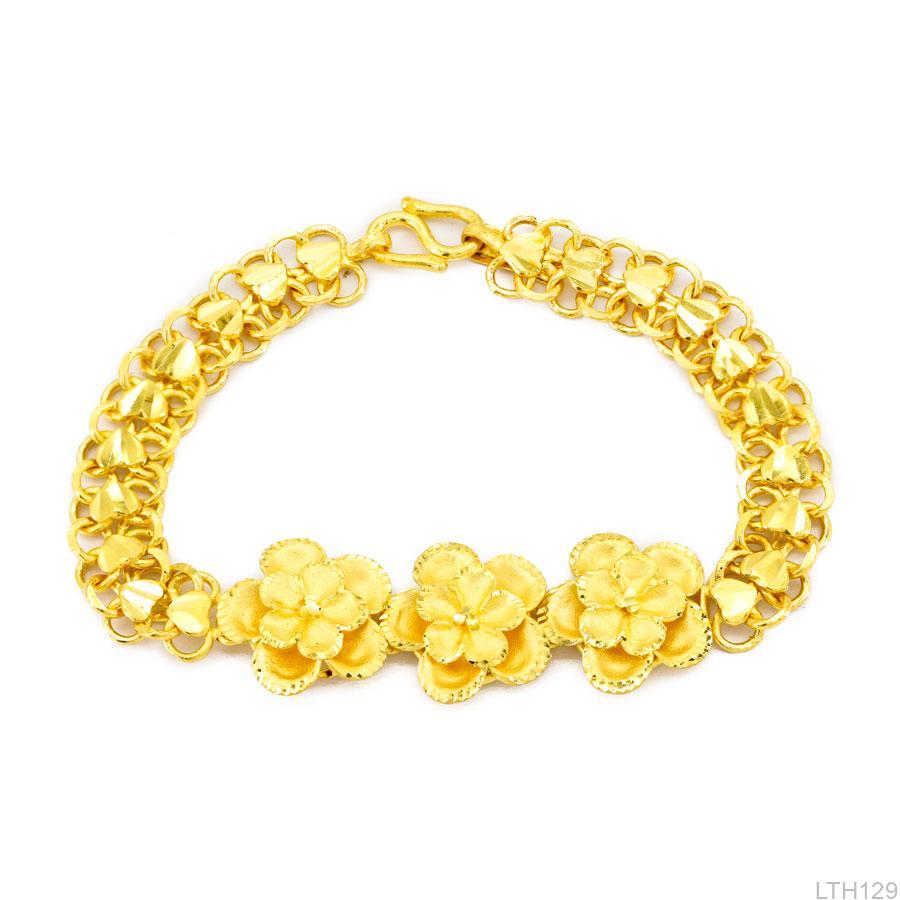 Lắc Tay Vàng Vàng 24k - LTH129