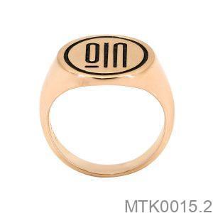 Nhẫn Nam Vàng Vàng 18k - MTK0015.2