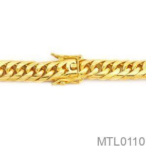 Lắc Nam Vàng Vàng 18k - MTL0110