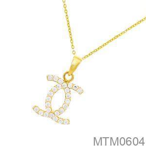 Mặt Dây Nữ Vàng Vàng 18k - MTM0604