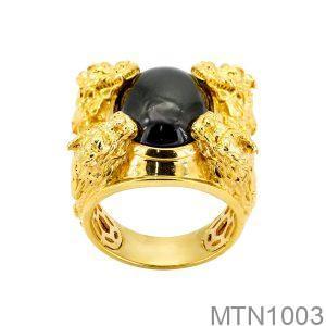 Nhẫn Nam Vàng Vàng 18K - MTN1003