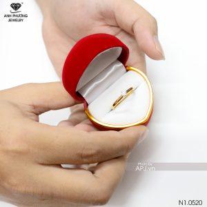 Nhẫn Nữ Vàng 18K Đính Đá CZ - N1.0520