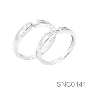 Nhẫn Bạc Chung Đôi - SNC0141