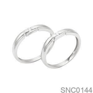 Nhẫn Bạc Chung Đôi - SNC0144