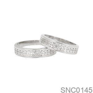 Nhẫn Bạc Chung Đôi - SNC0145