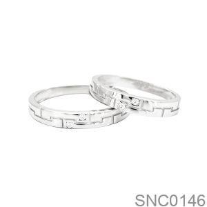 Nhẫn Bạc Chung Đôi - SNC0146