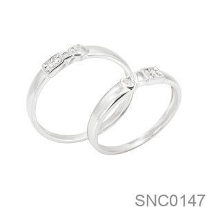 Nhẫn Bạc Chung Đôi - SNC0147
