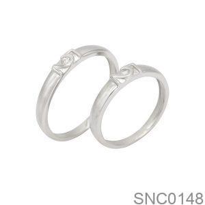 Nhẫn Bạc Chung Đôi - SNC0148