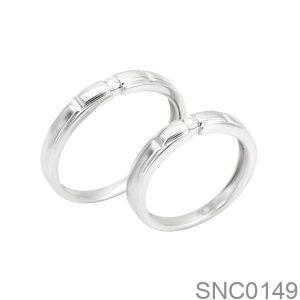 Nhẫn Bạc Chung Đôi - SNC0149