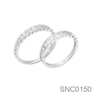 Nhẫn Bạc Chung Đôi - SNC0150