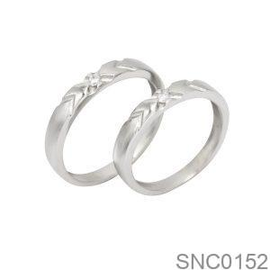 Nhẫn Bạc Chung Đôi - SNC0152
