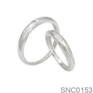 Nhẫn Bạc Chung Đôi - SNC0153