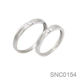 Nhẫn Bạc Chung Đôi - SNC0154