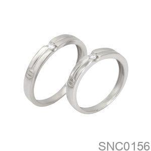 Nhẫn Bạc Chung Đôi - SNC0156