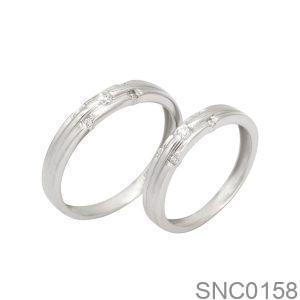 Nhẫn Bạc Chung Đôi - SNC0158