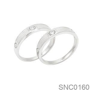 Nhẫn Bạc Chung Đôi - SNC0160
