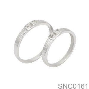 Nhẫn Bạc Chung Đôi - SNC0161