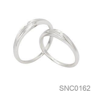 Nhẫn Bạc Chung Đôi - SNC0162