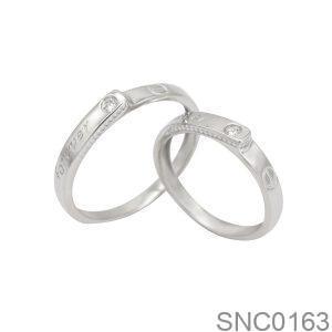 Nhẫn Bạc Chung Đôi - SNC0163