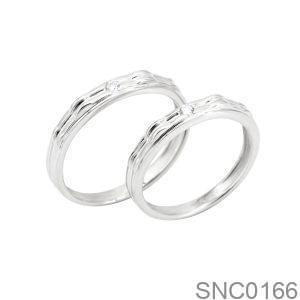Nhẫn Bạc Chung Đôi - SNC0166