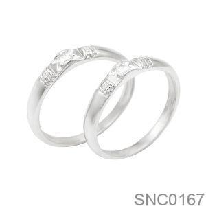 Nhẫn Bạc Chung Đôi - SNC0167