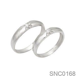 Nhẫn Bạc Chung Đôi - SNC0168