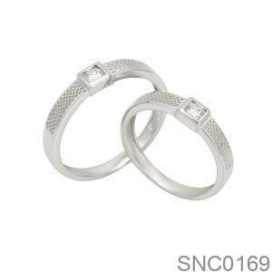 Nhẫn Bạc Chung Đôi - SNC0169