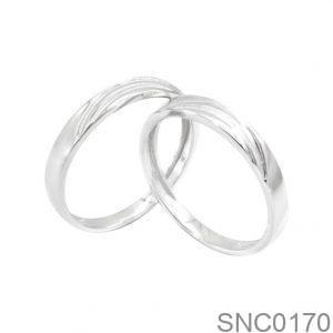 Nhẫn Bạc Chung Đôi - SNC0170