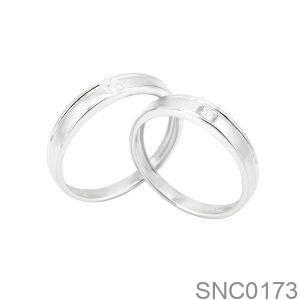 Nhẫn Bạc Chung Đôi - SNC0173