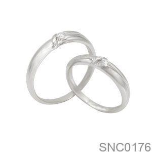 Nhẫn Bạc Chung Đôi - SNC0176
