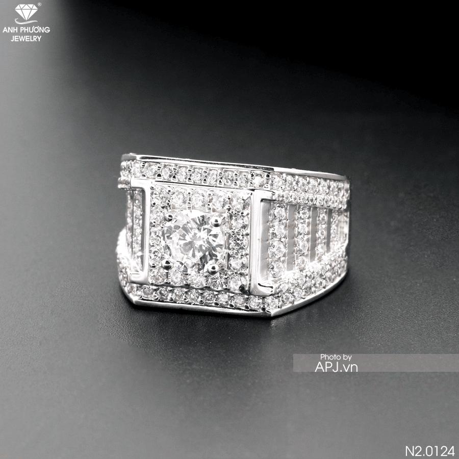 Nhẫn nam cổ điển N2.0124
