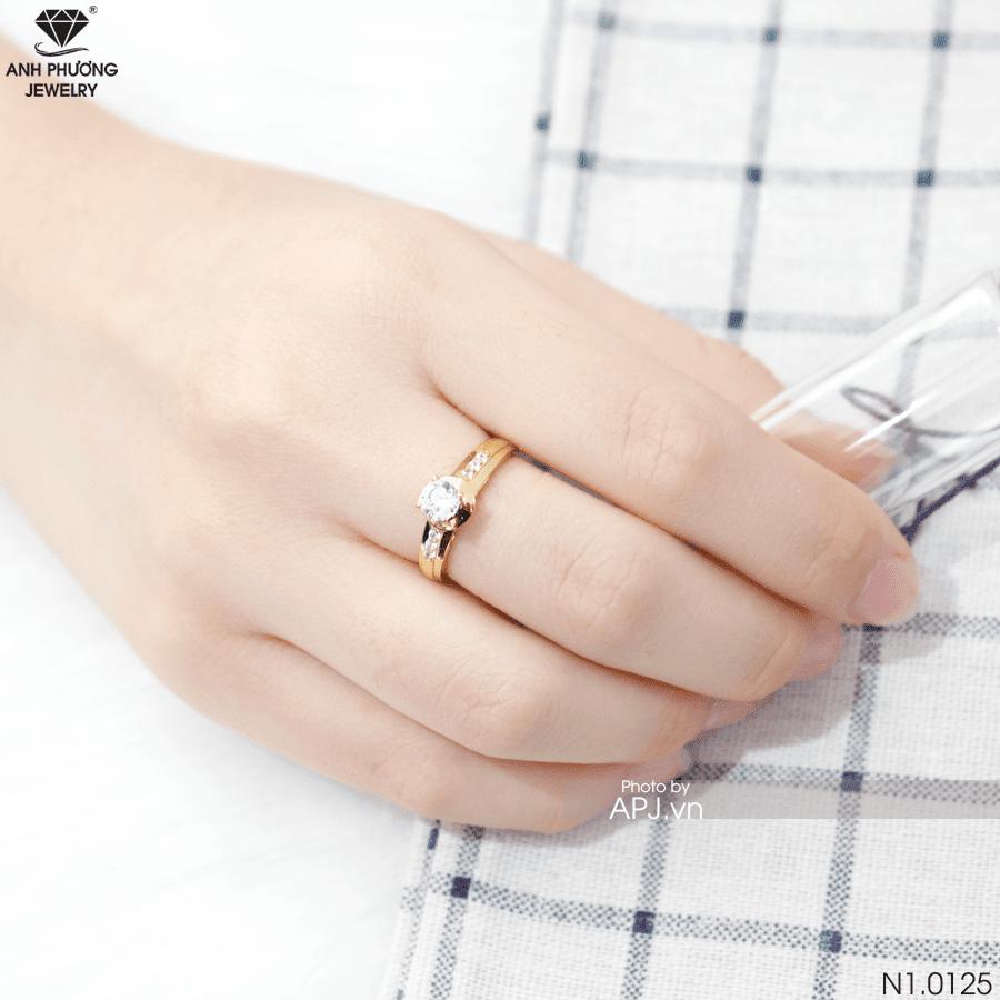 Nhẫn nữ vàng 18k N1.0125