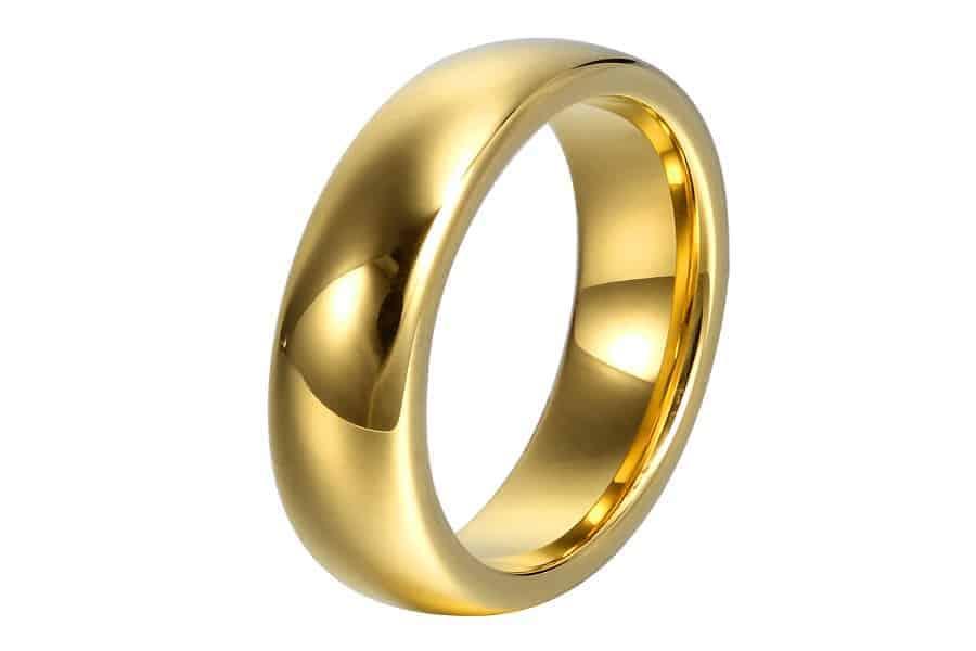 Những mẫu nhẫn vàng nam không gắn đá đẹp