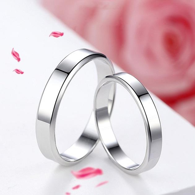 Tại sao nên chọn nhẫn cưới bạch kim trơn?