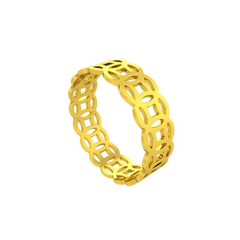 Đeo nhẫn vàng kim tiền nam như thế nào?