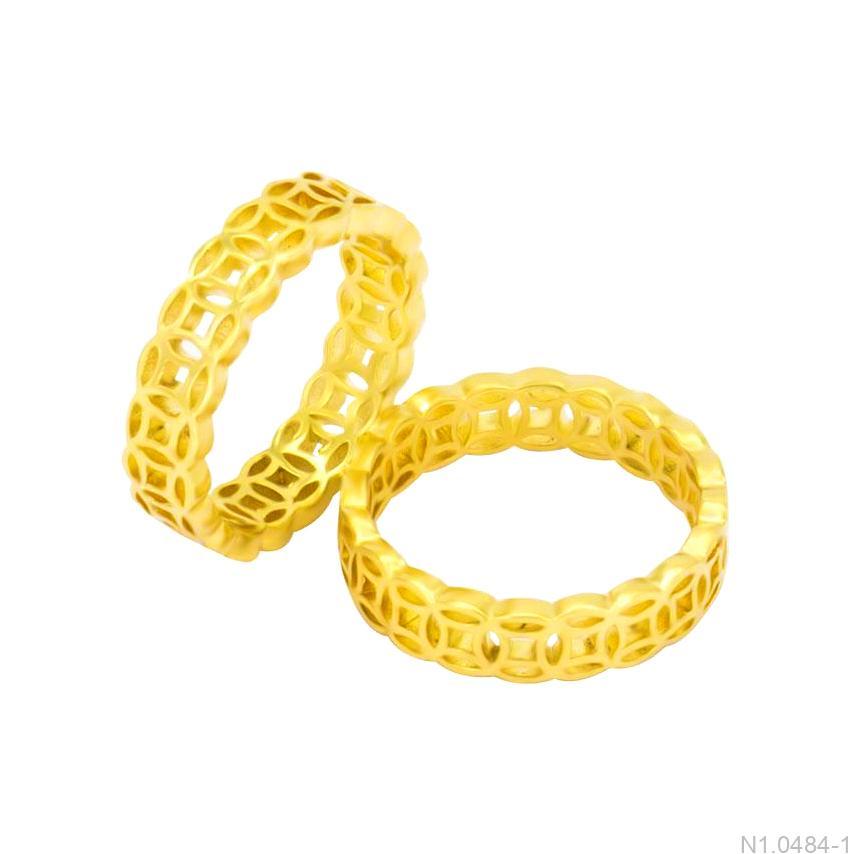 Nhẫn cưới kim tiền