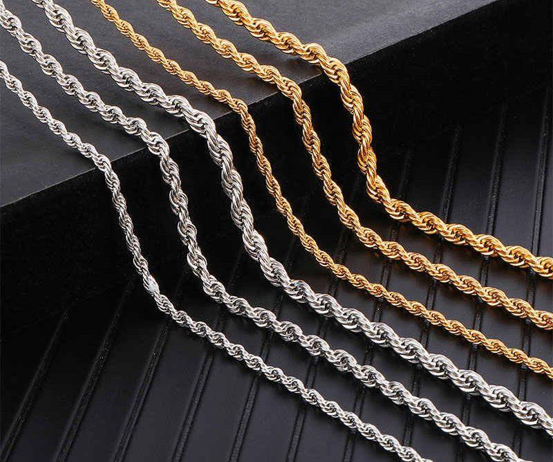 Những mẫu dây chuyền bạch kim nam đẹp 2020