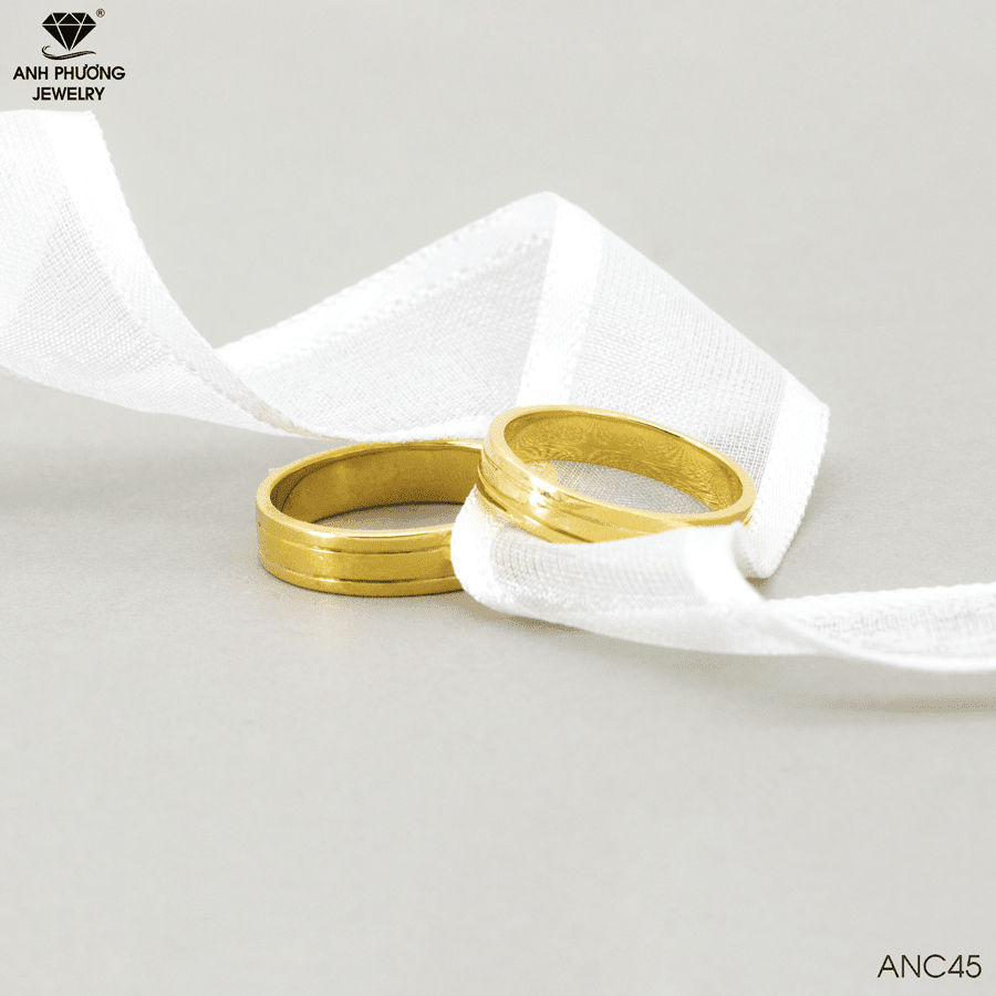 Nhẫn cưới nên lựa 14k hay 18k