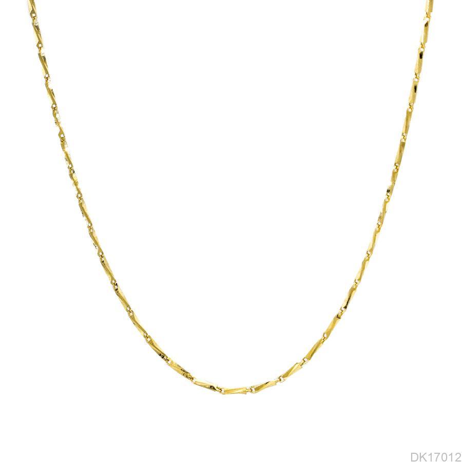 Dây Chuyền Nữ Vàng Vàng 14K - DK17012