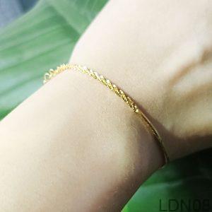 Lắc Tay Vàng Vàng 18k - LDN08